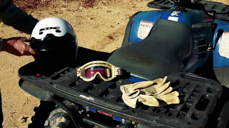 Safety Equipment For Driving ATV