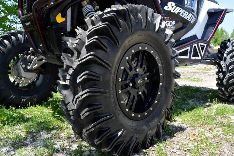 ATV Tire On UTV
