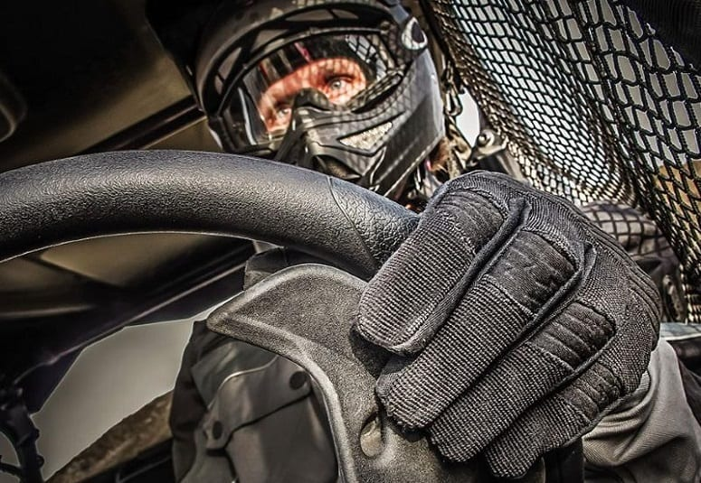 Wearing Safety Equipment While Driving UTV