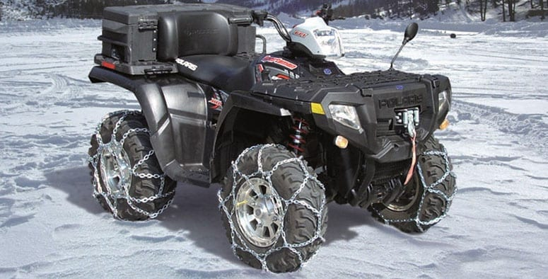 UTV Plow Chains