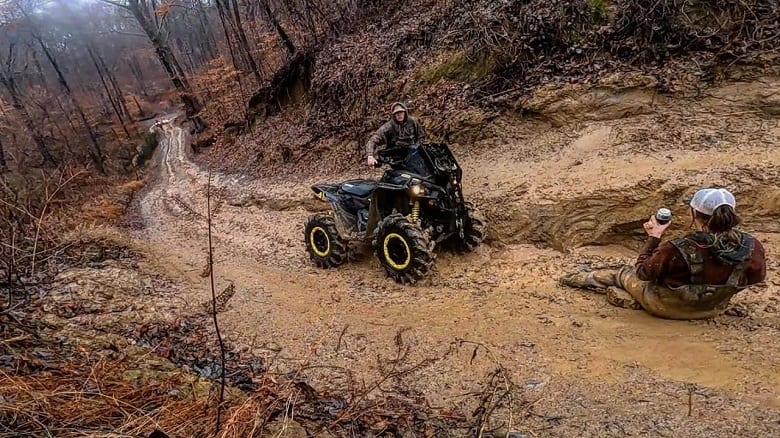 CAN ATV BATTERIES SUSTAIN DAMAGE DURING THE RIDE?
