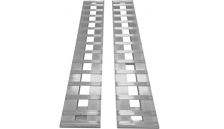 BROOZER SET OF ALUMINUM RAMPS