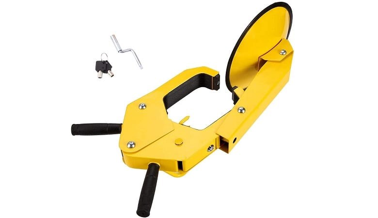 HOMDOX WHEEL ANTI-THEFT WHEEL CLAMP LOCK