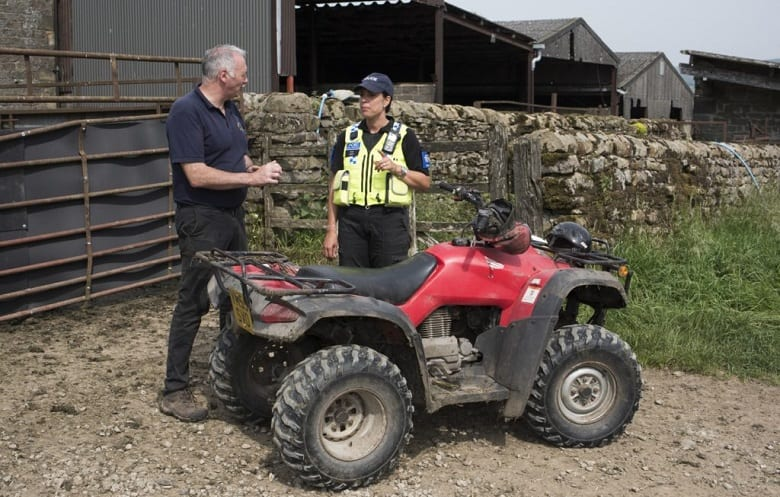 HOW DO I PROTECT MY ATV FROM THEFT?