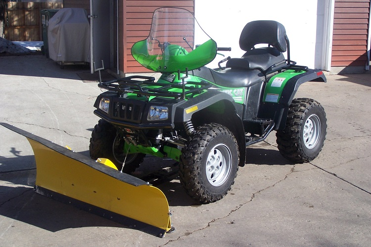 Snow Plow ATV