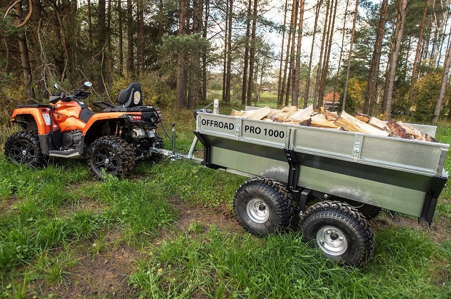 Everything You Should Know About ATV/UTV Trailers